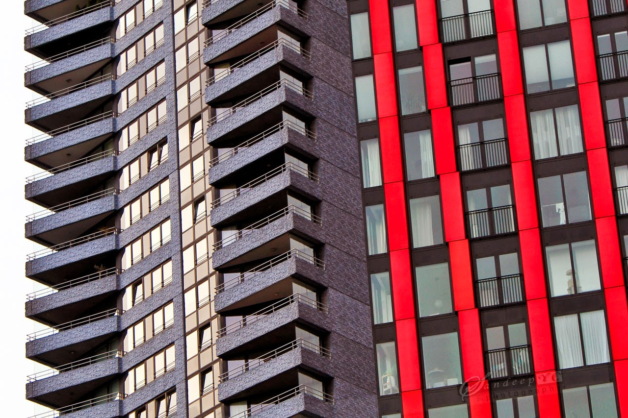 Waterstadtoren;2004;HM Architekten(L), Red Apple;2009;KCAP Architects(R)