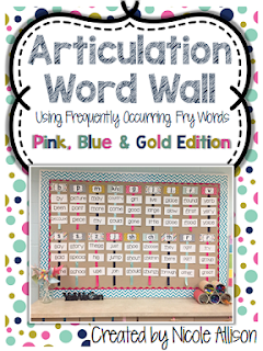 https://www.teacherspayteachers.com/Product/Articulation-Fry-Word-Wall-Pink-Blue-Gold-Edition-1861093