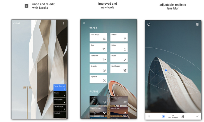 تطبيق Snapseed لتحرير وتحسين الصور بإحترافية للأندرويد والآيفون