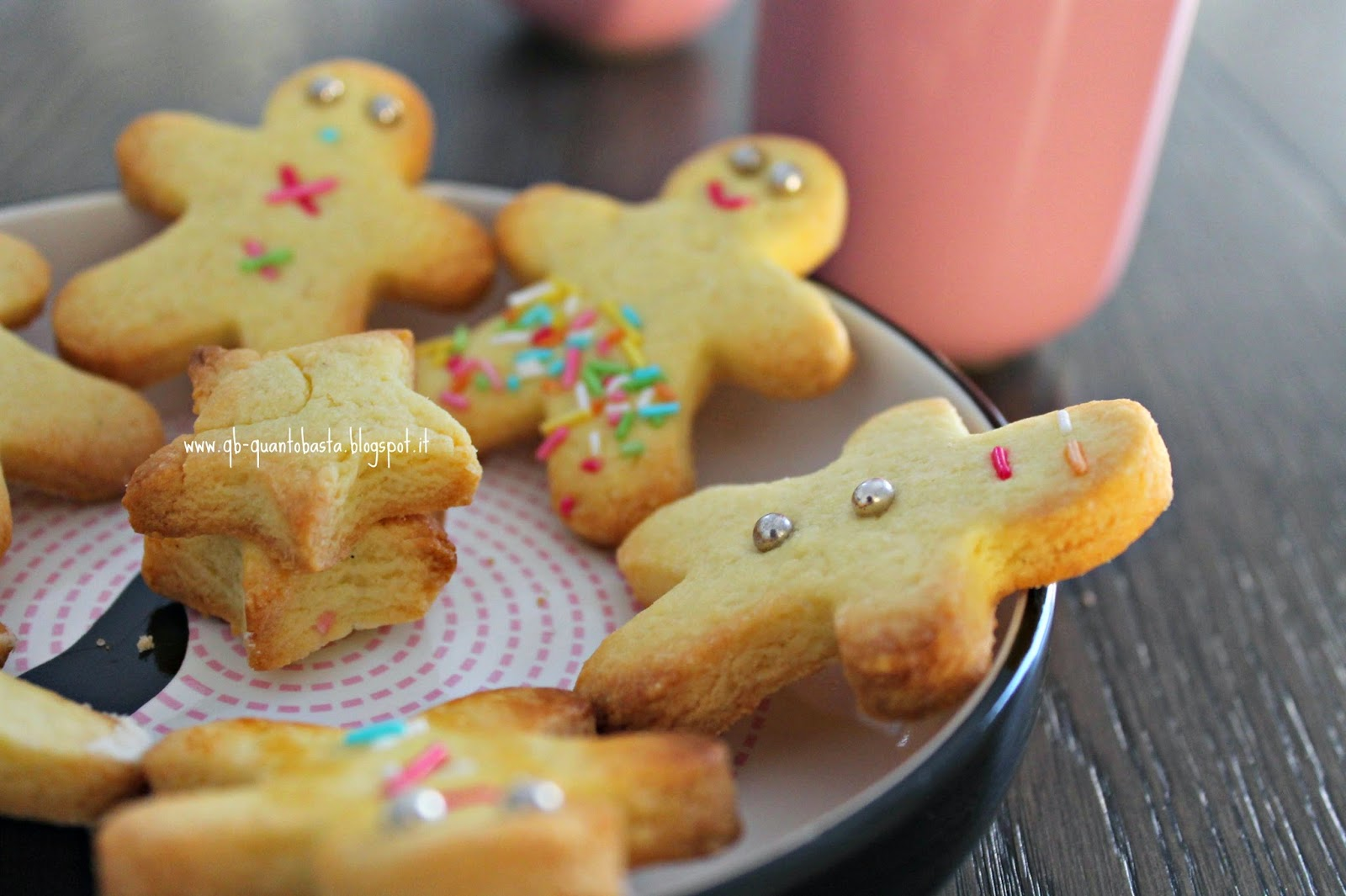 Q.b. - Quanto Basta: Biscotti di frolla alla vaniglia