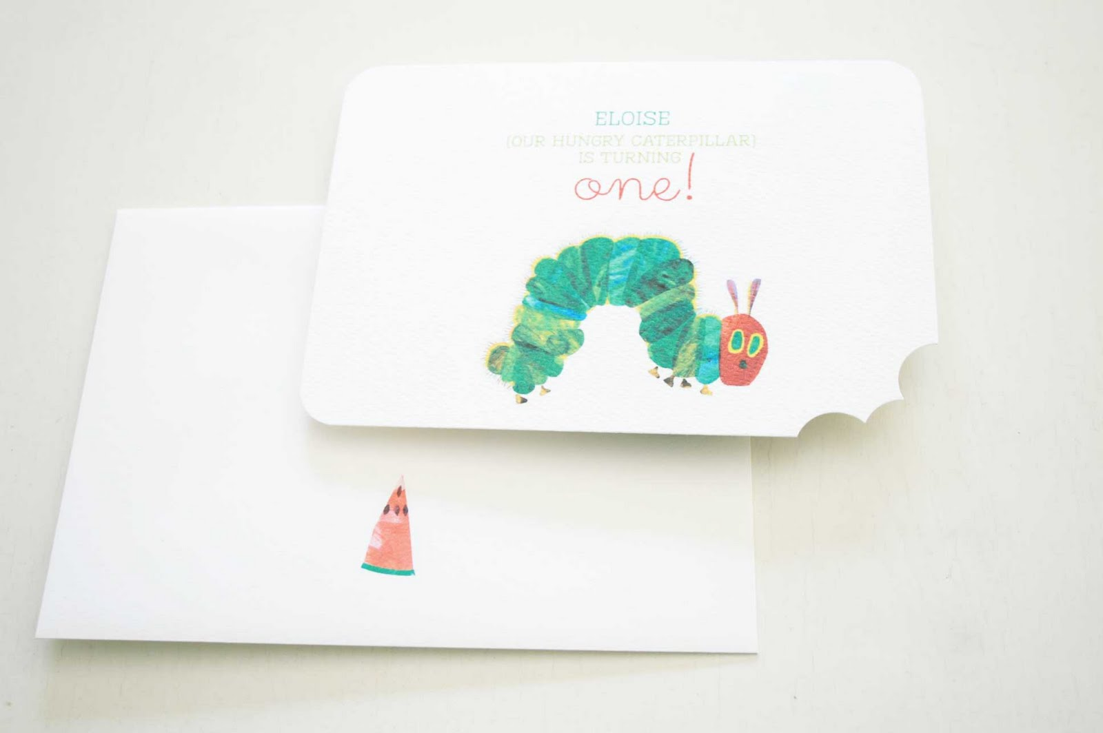 The Very Hungry Caterpillar Theme - Lifes Little Celebration