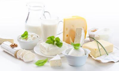 Algunos datos de los lácteos y la pérdida de peso