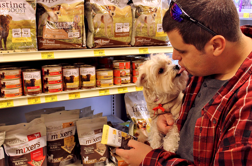 Nature's Variety Instinct® Raw Boost Mixers feature protein rich RAW ingredients you can mix in to your pet's everyday food for an ancestral diet boost they crave and need. Pick up a sample pack in 1 of 4 delicious varieties at PetSmart today and #MixItUp. AD
