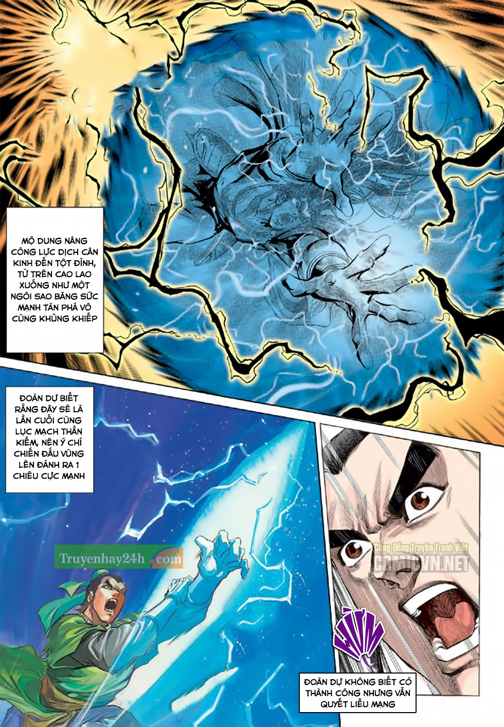 Thiên Long Bát Bộ chap 100 – End Trang 5 - Mangak.info