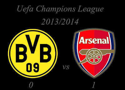 Borussia Dortmund vs Arsenal Result November 2013