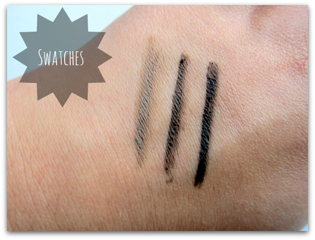 L'Oreal Paris Super Liner Brow Artist Pencil Swatches