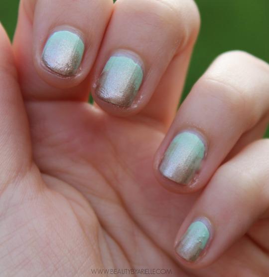 Spring Gradient Nail