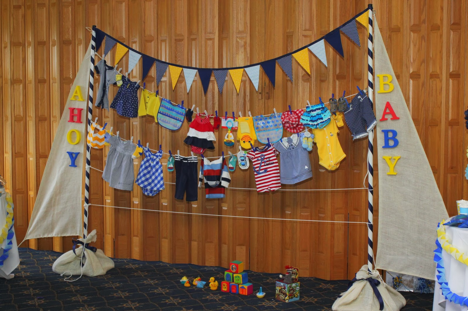 doo dah nautical baby shower