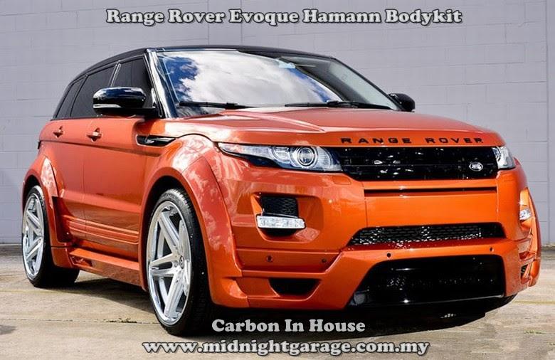 midnight garage bodykit centre range rover evoque hamann. Black Bedroom Furniture Sets. Home Design Ideas
