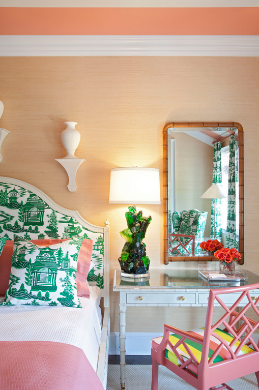 Mix and Chic: A fresh and beautiful Asian-inspired bedroom!