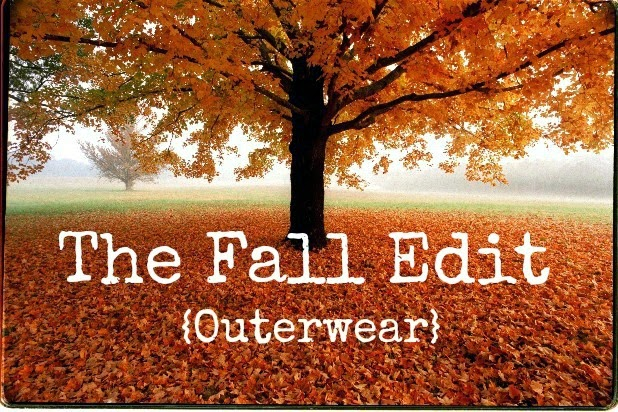 The Fall Edit: Outerwear- my top picks for the chilly season!