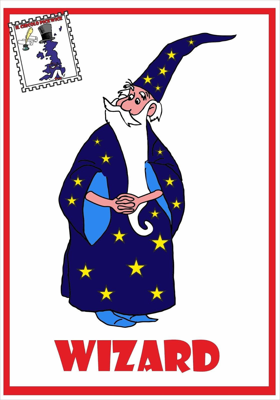 Wizard in inglese