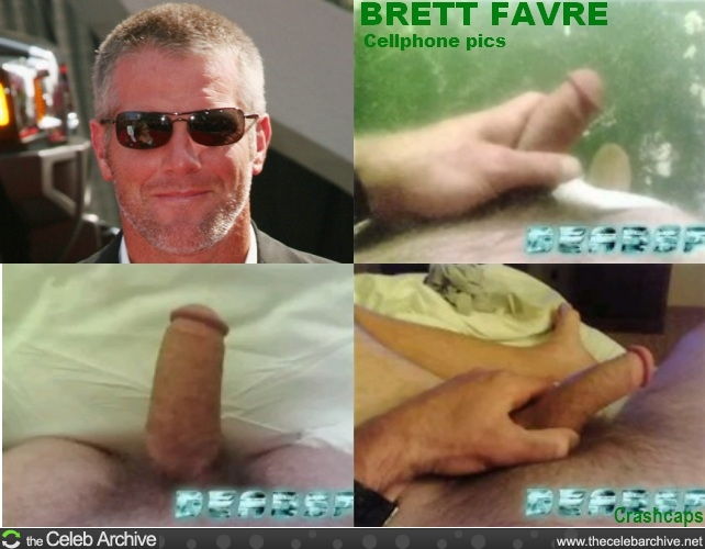 brett favre dick picture