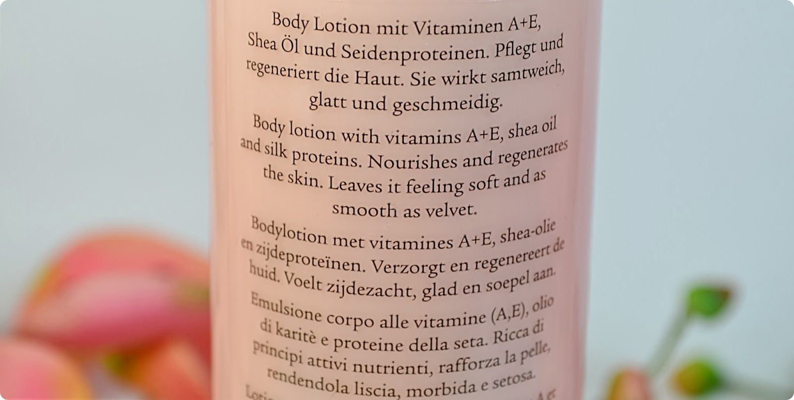 Review J.S Douglas Söhne VITAMINE & SHEA Body Lotion