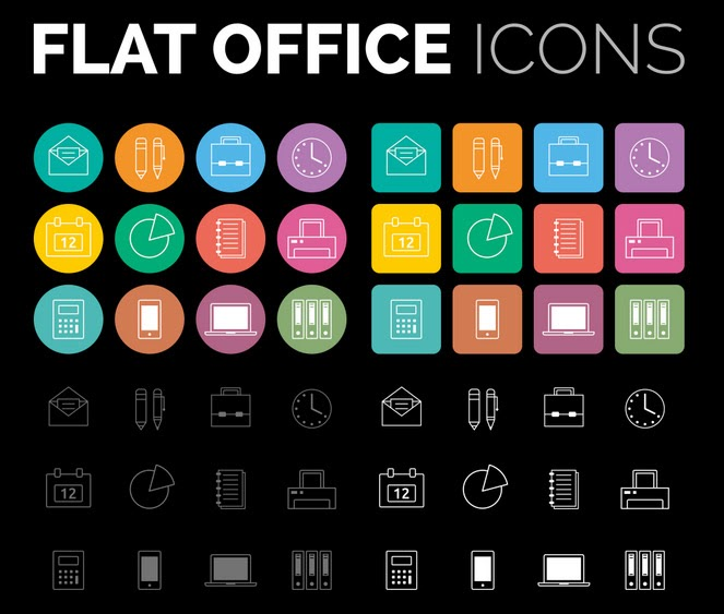 30+ Free Icon Sets for Web Designers