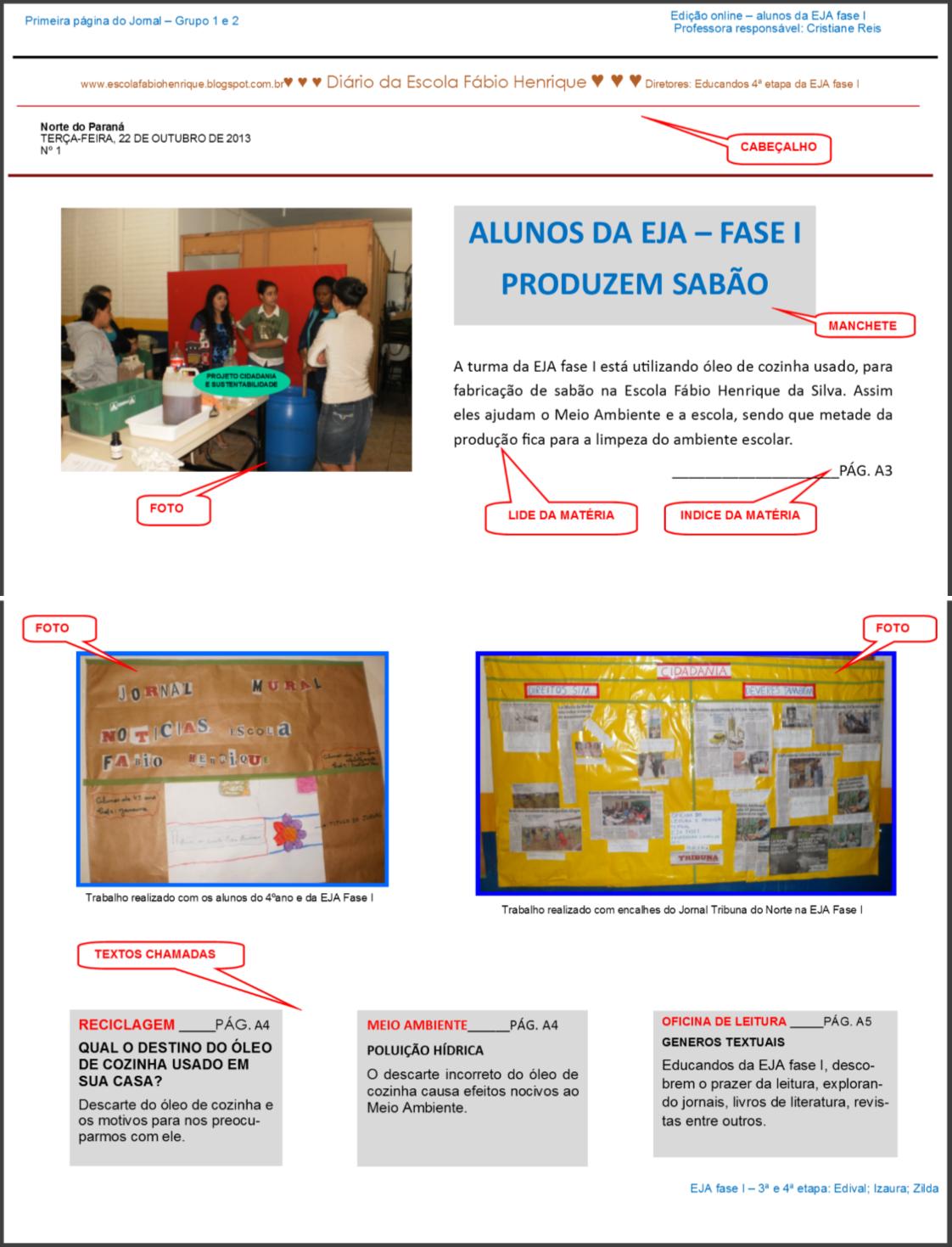 Ensinar é Aprender Cris Reis: PROJETO CIDADANIA E SUSTENTABILIDADE #B0811B 1122 1469