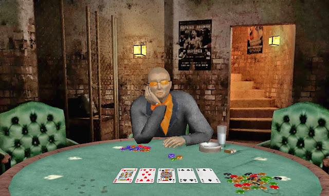 Decode body language playing poker