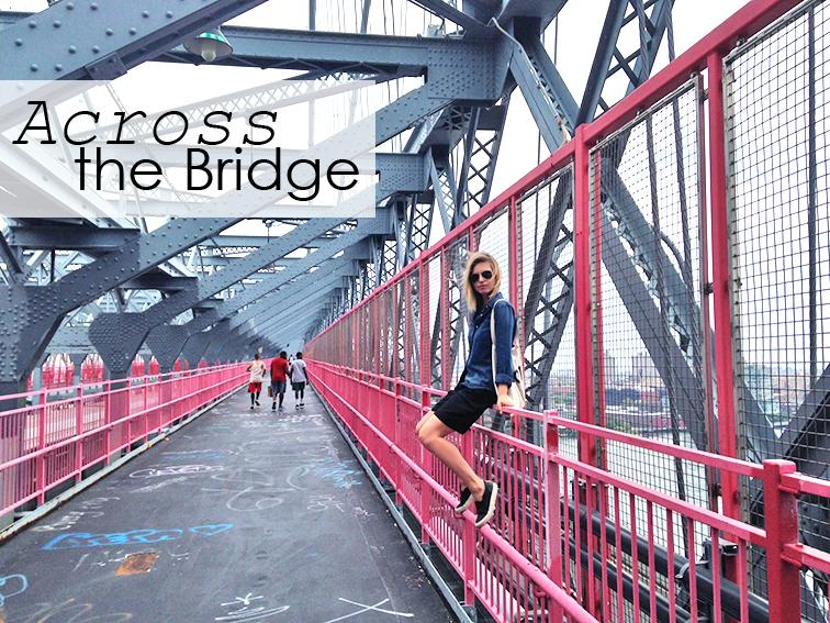 Fashion Over Reason on the Williamsburg bridge, New York City, Brooklyn