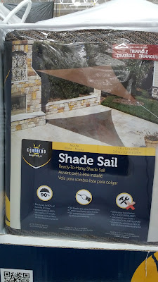Gale Pacific Coolaroo Shade Sail protects from the sun