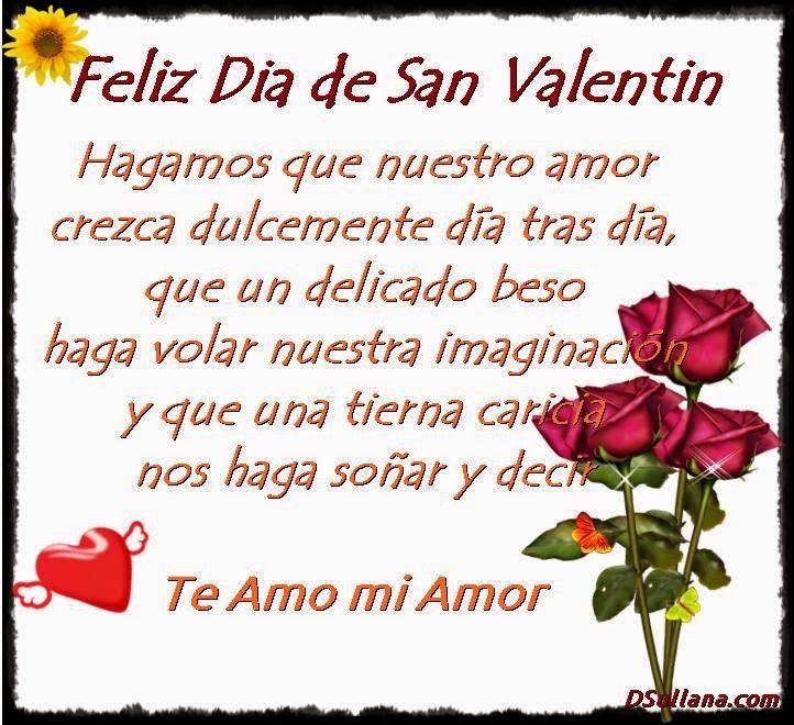Frases De Amor Para El Dia De San Valentin 2015
