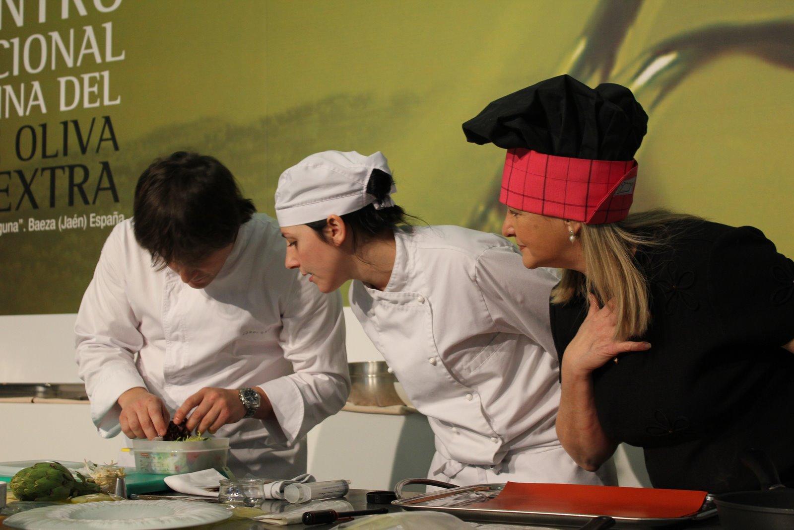 Ix encuentro internacional de cocina con aceite de oliva - Escuela cocina barcelona ...