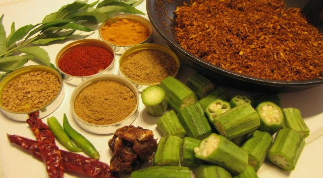 how to make ladies finger curry