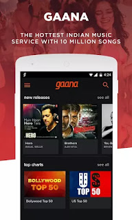 Gaana: Bollywood & Hindi Songs v6.1.1 Apk