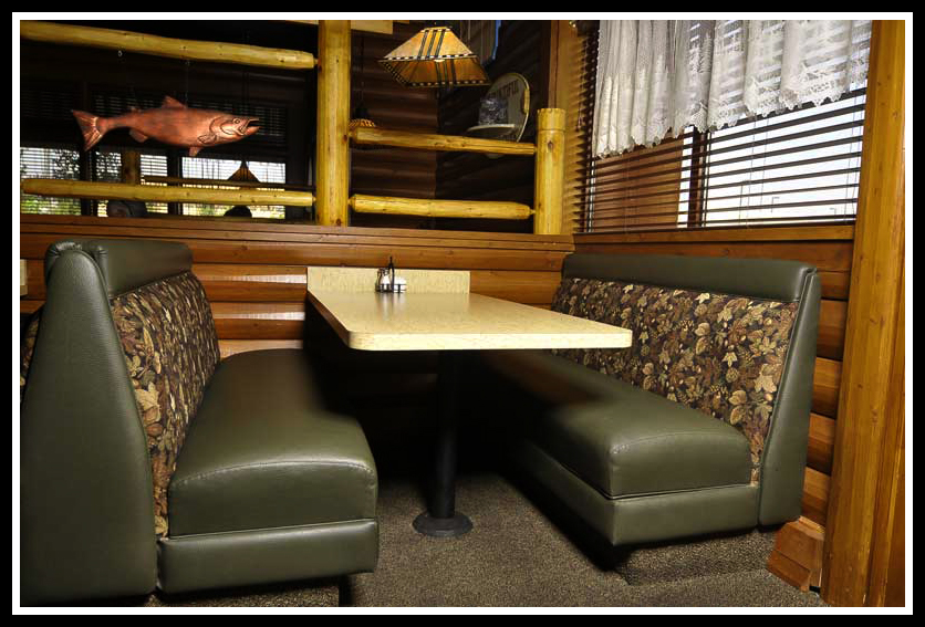 Booth Zombie Pic Restaurant Booth Upholstery