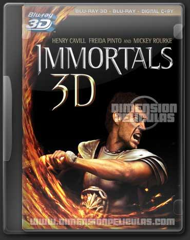 Immortals (BRRip 3D FULL HD Inglés Subtitulada)