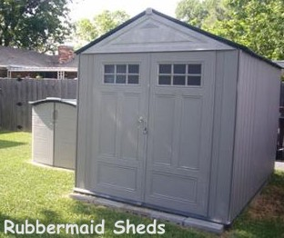 Rubbermaid Garden Sheds the Gardening Storage Solution