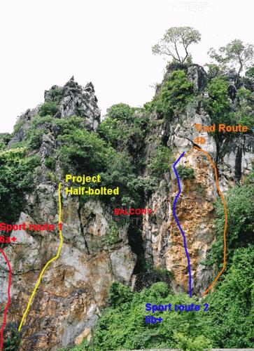 Chùa Thầy - Các địa điểm leo núi  ở Miền Bắc
