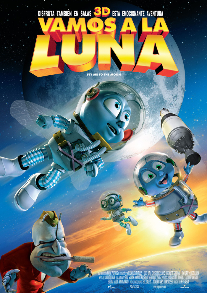 Ver Vamos a la luna (Fly Me to the Moon) (2008) Online