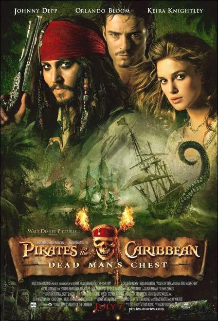 Pirates of the Caribbean: Dead man´s chest (Piratas del Caribe: El cofre de la muerte) (2006) Español Latino