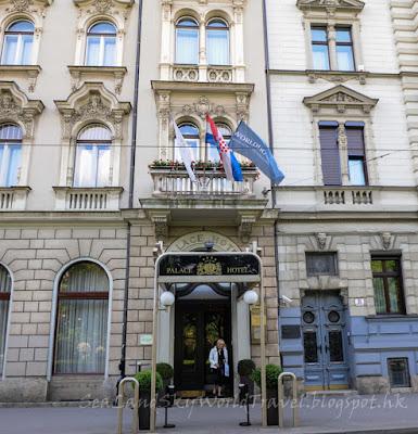 薩格勒布, Zagreb, Palace Hotel