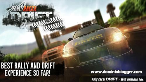 Toda la accion en la competencia de Rally Racer Drift
