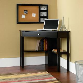small black writing desk