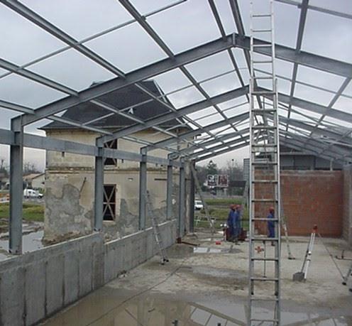 Herreria en general las 24 hs tinglados techos galpones for Tejados de herreria