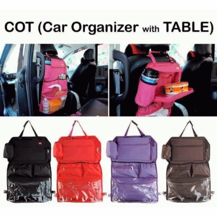 Car Organizer with Table
