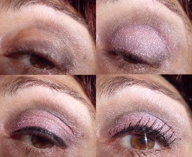 maquillaje rosa y gris paso a paso
