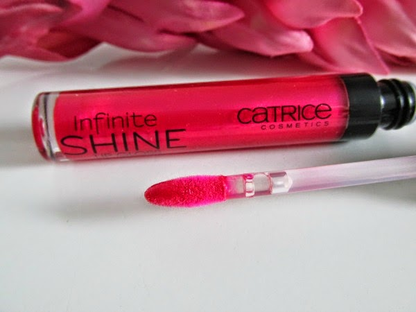 Catrice Infinite Shine Lipgloss - Pink Twice Applikator