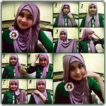 Cara Memakai Jilbab Gaul | Tutorial Hijab
