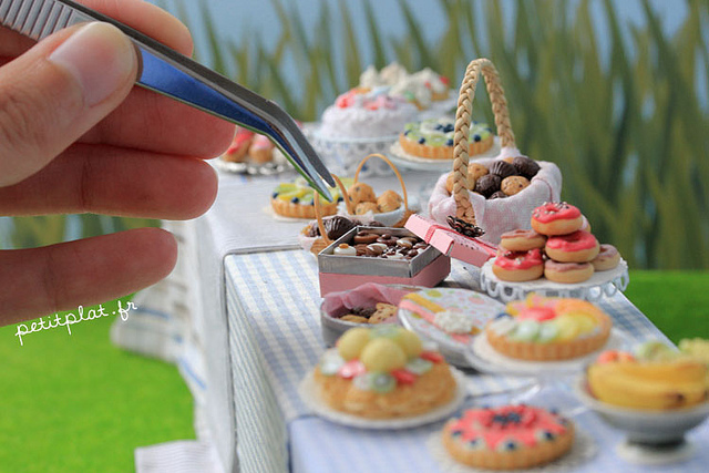 Comida em miniatura: mesa de doces candy table