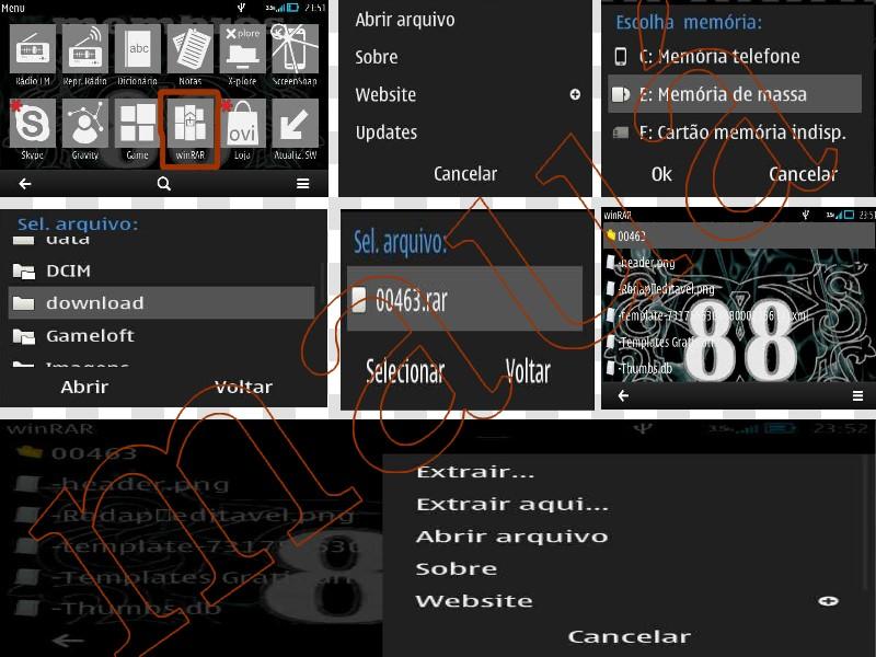 WinRar v1.01 Symbian PT - BR