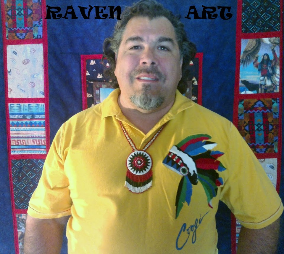 Native Raven Art