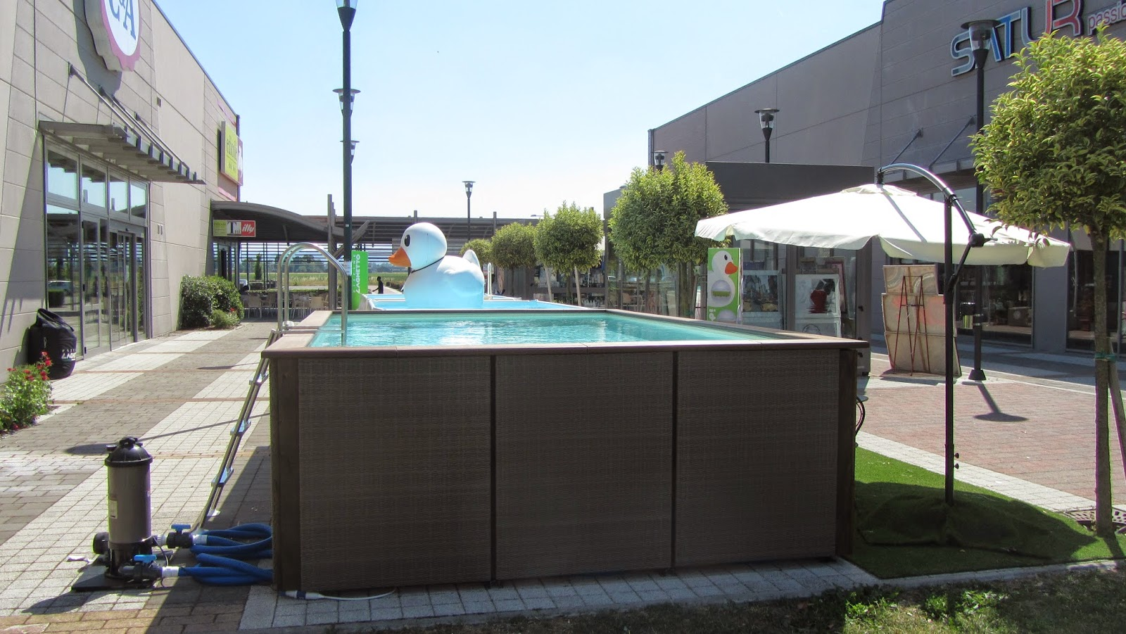 Fidenza temporary shop piscine laghetto news blog for Piscine 3x5