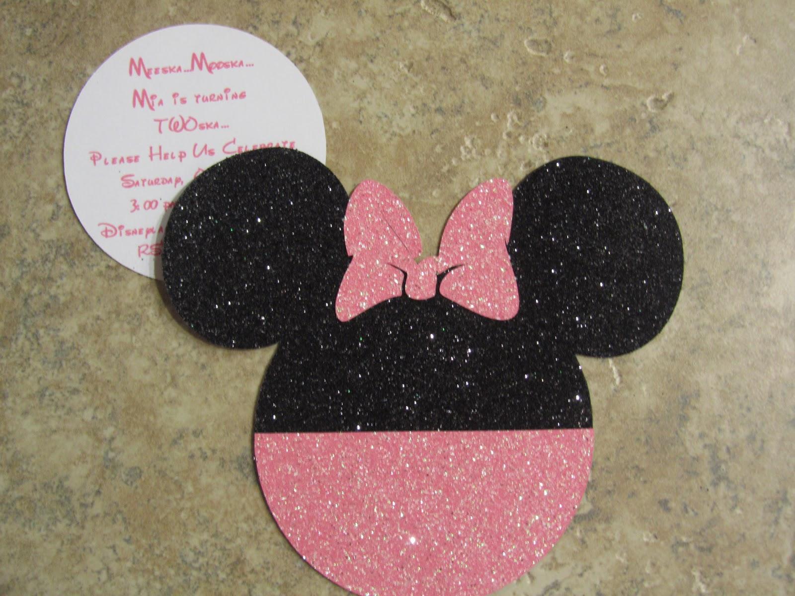 Stuff your mom didn't make...: Minnie Mouse Invitations