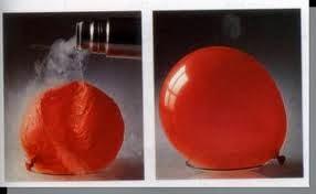 percobaan gas dalam balon