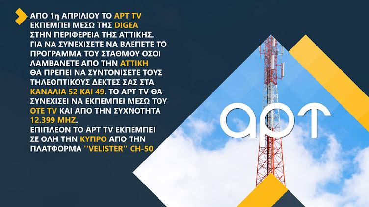 ΑΡΤ TV Ενημερωτική Κάρτα