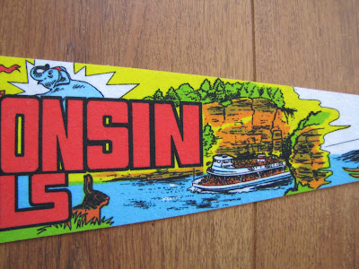 Mad For Mid Century Travel Pennants And Souvenir Pennants