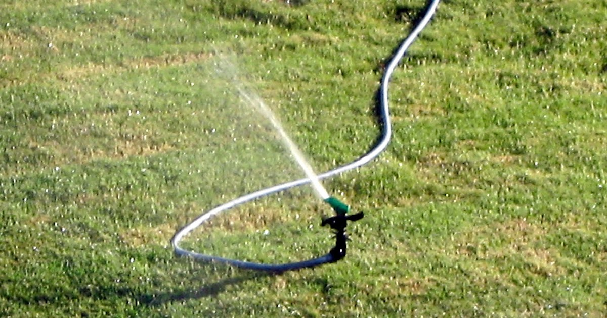 Sprinkler Juice: Using an Above-Ground Lawn Watering System